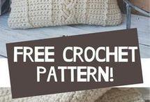 Crochet pattern - pillow cover