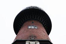 """Телебашня в гостях в Зеленоградске / С водонапорной башни  виден почти весь город Зеленоградск. Башня была построена в 1905 году и снабжала весь курорт водою. Сейчас в башне музей кошек """"Мурариум"""""""