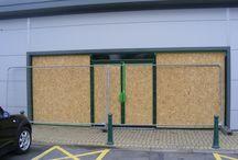 Emergency Window and Door Boarding UP, Preston