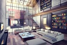 Living Space / by Eddie Johnson