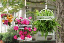 jardín vintage