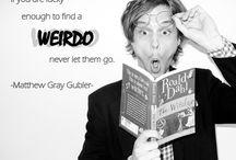 Matthew Gray Gubler (aka. Spencer Reid)