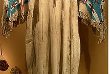 Native American Clothes And Moccasins / by Cathy Stevens