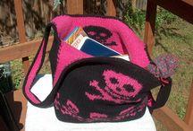 Knitting bag tas free pattern