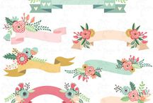 Floral paper / Full bunga