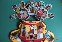 Disney scrapbooks