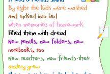 school:beginning of the year / by Barbara Reichert