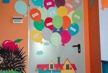 dekoracje na drzwi