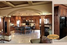 Arched, Elegant Home - Showplace Cabinets / Oxford and Covington Door Styles