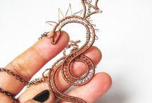 Fantasy creatures jewelry