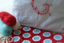 All things aqua and red / by Marmee P