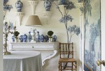 Blue Denim Interiors / Indigo interiors inspired by the colour of blue denim & all its shades
