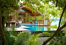 Pools / by Michael Lee - Builder of Homes and Villas