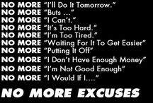 Getting Past the Excuses / Getting Past the Excuses to Make Room for Success- I've read so many success stories and love reading about someone going from excuses to success. Do you have excuses? Not anymore, read this board and get inspired. Stop making excuses and become the successful person you were meant to be. You have a skill, now to figure out what YOU want to do! / by Eliza Ferree
