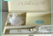 caixa de batismo