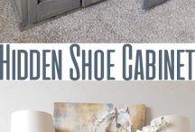 shoe cabinett