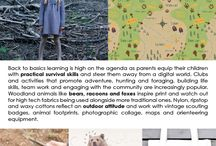 A/W 2012 Kids: Forager / Our Kid's Lifestyle Trend for Autumn/Winter 2912; Forager.