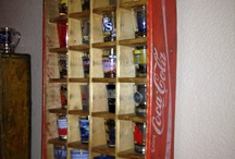 Shot glass shelfs