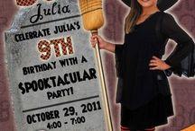 halloween birthday partys