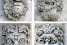 Maszkarony i podobne elementy architektoniczne
