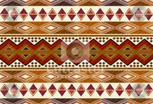 African patterns / Tribal patterns and design from Africa or inspired by Africa.