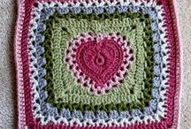 granny squares motifs / by Linda Miller-Christianson