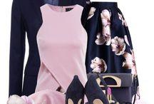 синий и розовый в моде