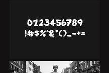 tipography on photography