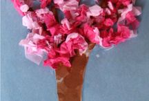 Tree-Inspired Crafts / Beautiful, fun crafts that you can try, too!
