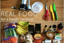 Road Trip Meal Planning / Portable meals and snack ideas for taking a road trip with your family.