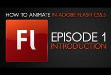 Flash Animation Tutorials, History, & Info / by Christina Carpenter