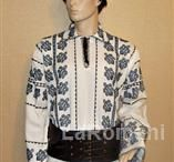 Blouse roumaine for man, handmade 100%