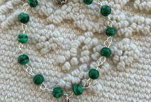 I miei gioielli: i sentieri dell'ossidiana / Creo gioielli in ossidiana e pietre dure anche su commissione