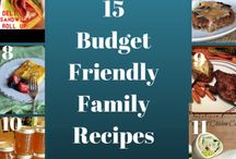 Budget Friendly Family Recipes / A collection of the best budget friendly family recipes!
