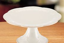 Cake Plates & Cake Stands
