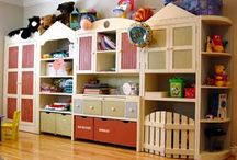 Basement storage ideas-playroom / by Holly Bright