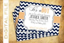 Baby boy shower ideas / Baby / by Kortney Kittle