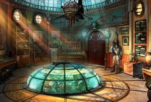 Décors Steampunk inspirations