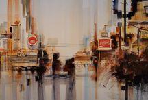 Roland Palmaerts Watercolour Aquarelle