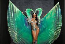 Carnival Makeup Inspiration / inspirational carnival makeup looks