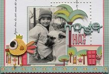 Now I Lay Me Down to Scrap / Scrapbooking Layouts for inspiration and to try / by Carol Roman