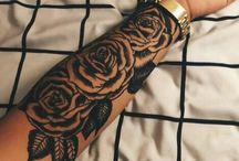 Tetování half sleeve