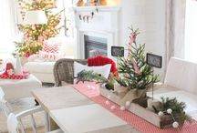 Christmas Style Series: Classic Red and White Christmas