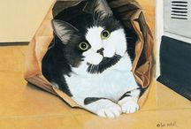 Art---Cats / by Julia Gray Carswell