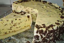 nepečené a pečené torty
