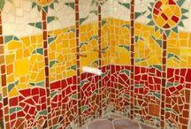 Broken Mosaic Mexican Tile Creations