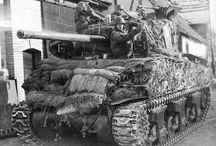 Us-Uk Sherman M4 tank '43-46