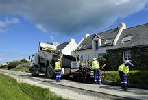 Chantiers routiers / Roadworks
