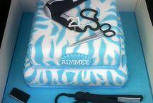 Hair dressing cake