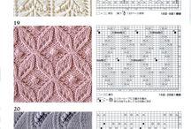 вязание, схемы